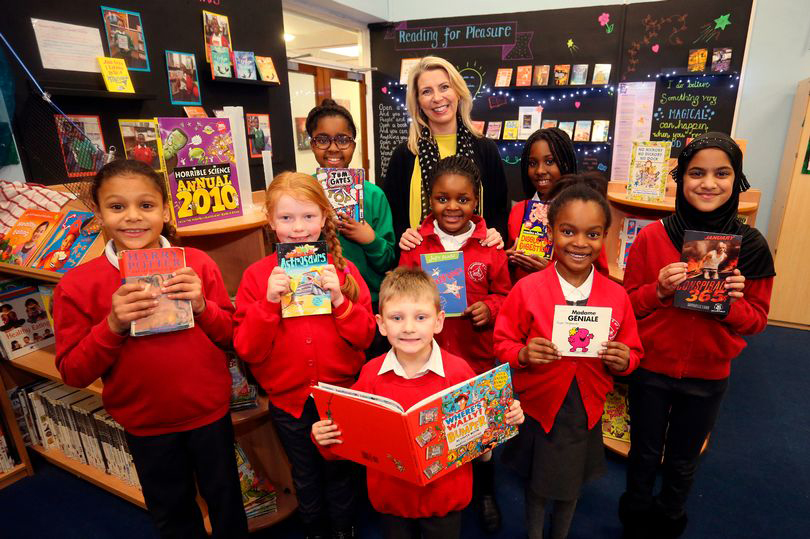 Sneinton primary school is one of the top in the country for reading