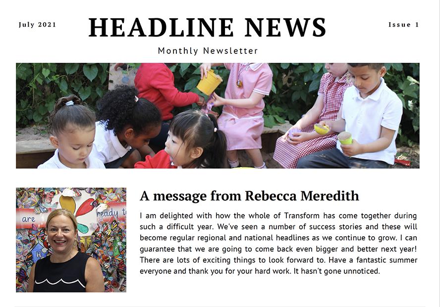Headline News – July Issue 1