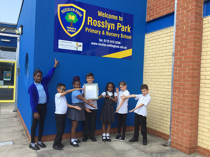 Rosslyn Park School celebrate their dedication to wellbeing, equality and diversity
